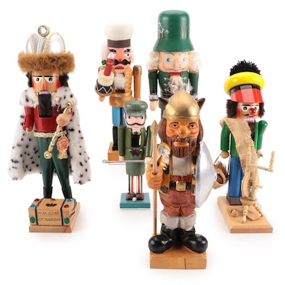 Steinbach and Other Carved Wooden Nutcrackers