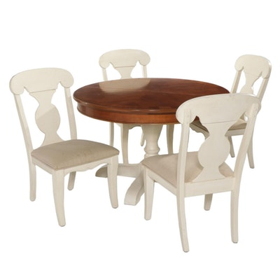 Legacy Classic Dining Table with Four Chairs