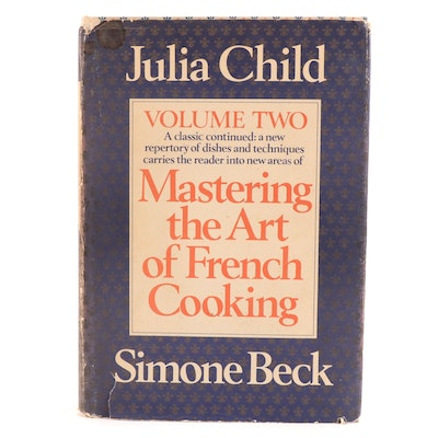 """First Edition """"Mastering the Art of French Cooking"""" Vol. II by Child and Beck"""