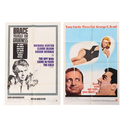"""""""The Spy Who Came In From The Cold"""", """"Not With My Wife, You Don't"""" Movie Posters"""