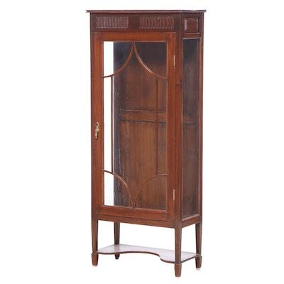 Edwardian Mahogany Display Cabinet, circa 1900