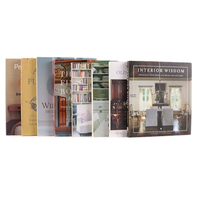 """Interior Design Reference Books Including """"Perfect Neturals"""" by Stephanie Hoppen"""
