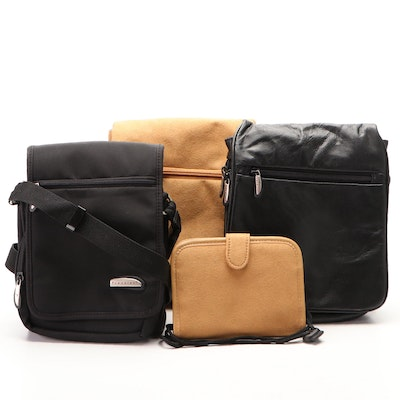 Travelon Flap Sling Shoulder Bags, Crossbody Bag, and Snap Pouch