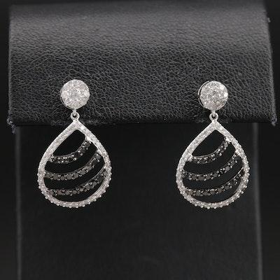14K 1.20 CTW Diamond Earrings
