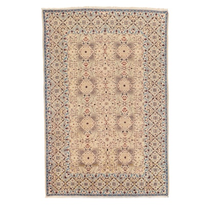 7'8 x 11'8 Hand-Knotted Persian Area Rug
