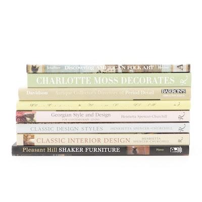Signed Henrietta Spencer-Churchill Interior Design Books and More