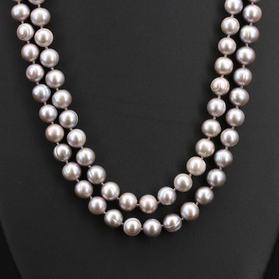 Pearl Rope Endless Necklace