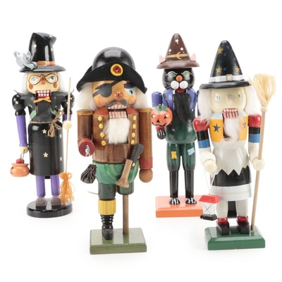 Erzebirge Pirate Nutcracker with Halloween Themed Nutcrackers