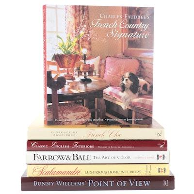 Scalamandré, Farrow & Ball, and More Interior Design Books