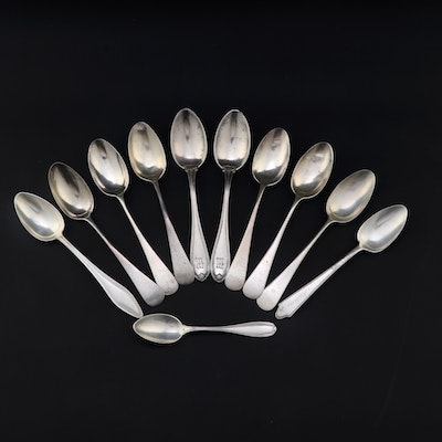"""International Silver """"Margret"""" and Other Sterling Silver Teaspoons"""