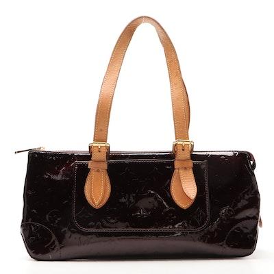 Louis Vuitton Rosewood Avenue Bag in Monogram Amarante Vernis
