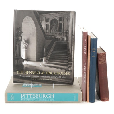 """Books About Pittsburgh Including """"The Henry Clay Frick Houses"""""""