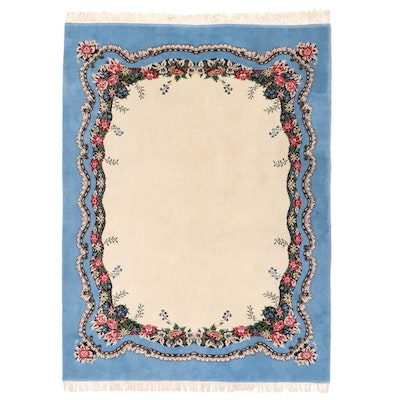 7'9 x 10'7 Hand-Knotted Area Rug