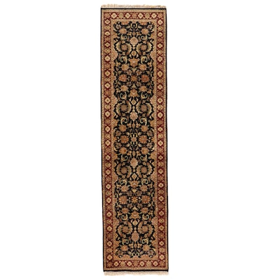2'6 x 10'3 Hand-Knotted Carpet Runner