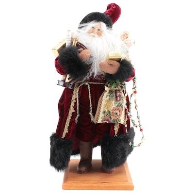 Lynn Haney Collection Santa Figurine, Late 20th Century