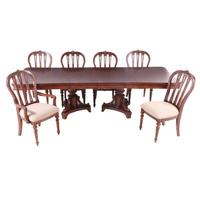 Seven-Piece Kincaid Furniture Company Hardwood Dining Set