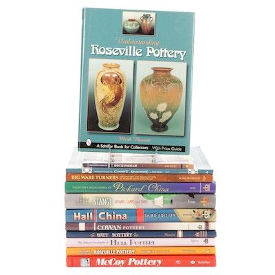 Books on Pottery, China, Stoneware, Etc