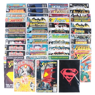 """Bronze and Modern Age DC Comics Including """"Superman"""" and """"Batman,"""" 1970s - 2020s"""