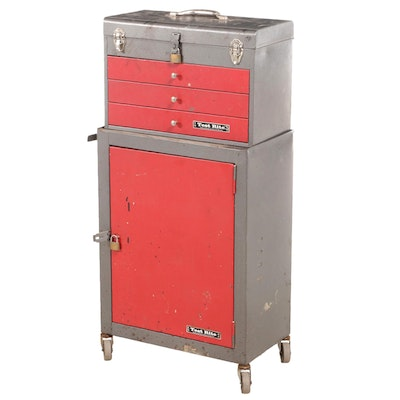 Test Rite Metal Tool Cabinet with Power Tools and More