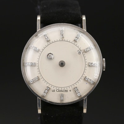 Longines 14K Diamond Mystery Dial Wristwatch