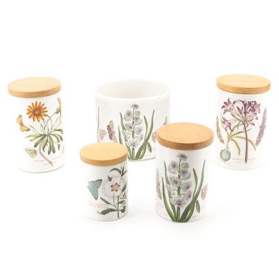 "Portmeirion ""The Botanic Garden"" Ceramic Canisters"
