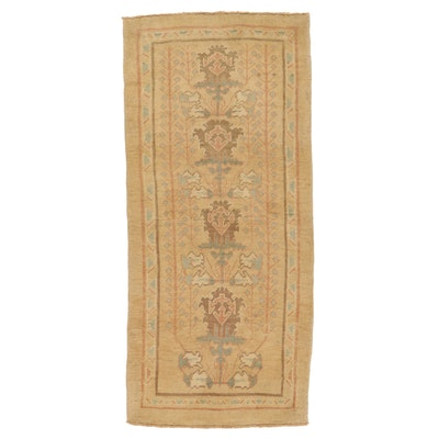 3'4 x 7'5 Hand-Knotted Turkish Donegal Area Rug