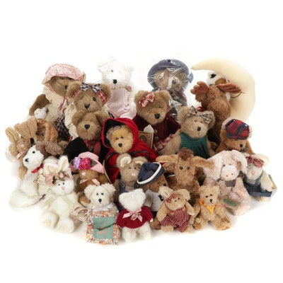 """Boyd Bears Stuffed Animals Including """"Piper Lapine"""", """"Baby Mookins"""" and More"""