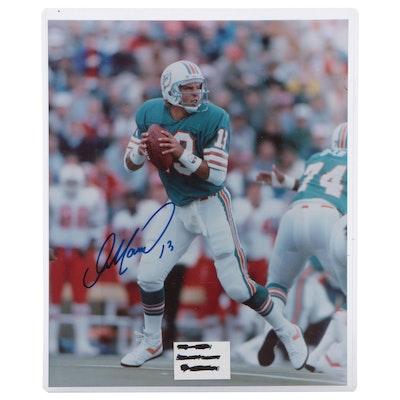 Dan Marino Signed Miami Dolphins NFL Photo Print, COA