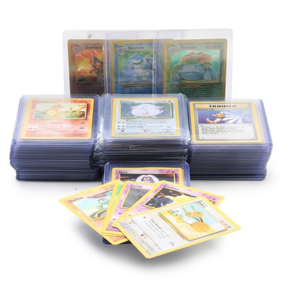 Complete Pokémon Trading Card Game Base Set, 1999