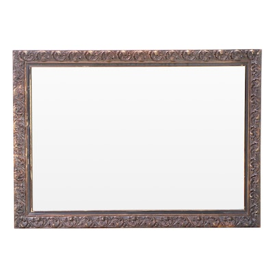 J.A. Olson Company Giltwood and Composition Mirror, Mid to Late 20th Century