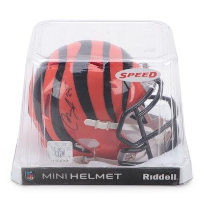 Giovani Bernard Signed Cincinnati Bengals Riddell Mini Football Helmet