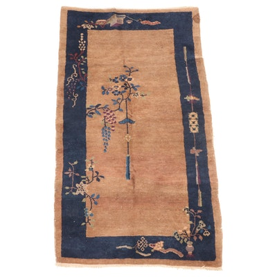 3' x 5'8 Hand-Knotted Chinese Nichols Area Rug
