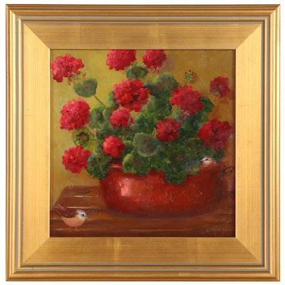 Susan Helbling Still Life Oil Painting, 21st Century