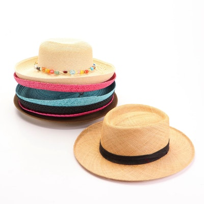 Stetson, Original Panama, Betmar, Cappelli, and Other Sun and Straw Hats