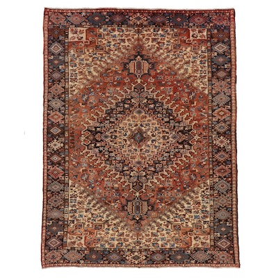 8' x 10'9 Hand-Knotted Persian Area Rug