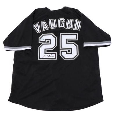 Andrew Vaughn Signed Chicago White Sox Major League Baseball Jersey, Beckett COA