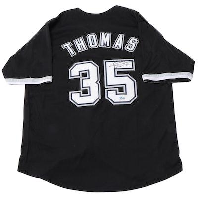 Frank Thomas Signed Chicago White Sox Major League Baseball Jersey, Beckett COA