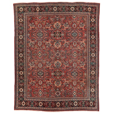10'8 x 13'8 Hand-Knotted Room Sized Rug
