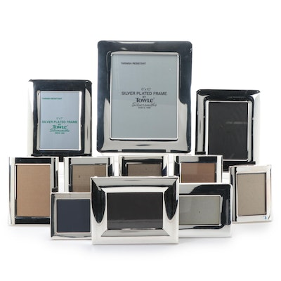 Towle Silver Plate Picture Frames with Other Silver Tone Picture Frames