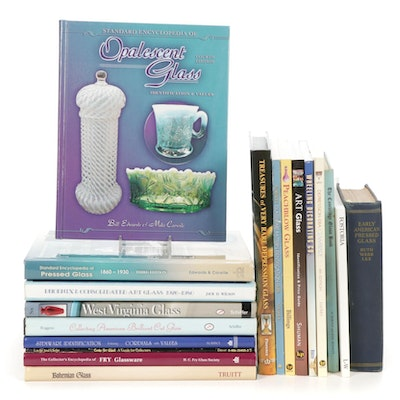 """""""Opalescent Glass"""" by Bill Edwards and Mike Carwile and More Reference Books"""