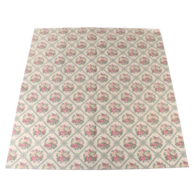 11' x 11'10 Machine Made Floral Room Sized Rug