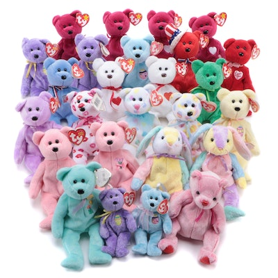 Ty Valentino, Dublin and Other Beanie Baby Bears