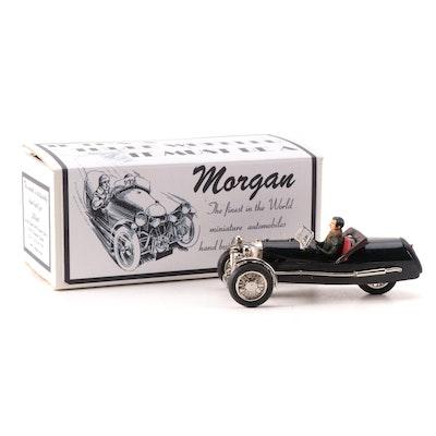Hand-Built and Painted Morgan 1938 SuperSports Barrelback Display Model