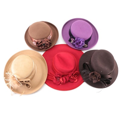 Betmar, Toucan Collection, Riviera, and Something Special Embellished Wool Hats