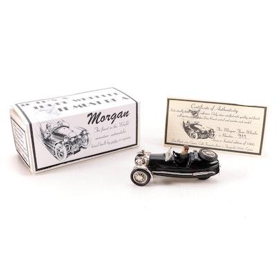 Hand-Built and Painted Morgan 1938 Super-Sports Beetleback Model Car