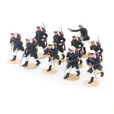 Alymer Spain Cast Metal French Foreign Legion Toy Soldiers