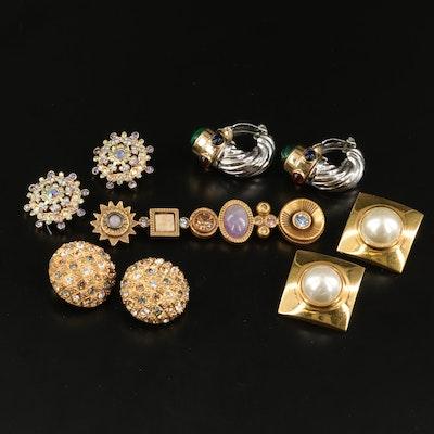 Designer Jewelry Including Gucci, Ciner and Patrica Locke