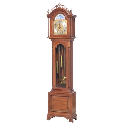 Ridgeway Colonial Style Maple Grandfather Clock