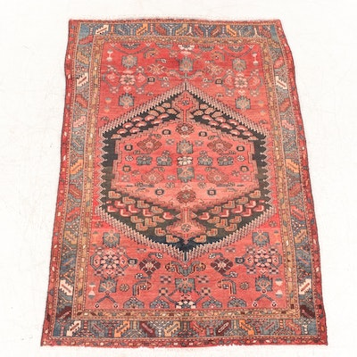 4'3 x 6'7 Hand-Knotted Northwest Persian Area Rug