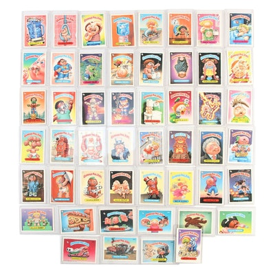 1986 Topps Garbage Pail Kids Trading Cards Stickers
